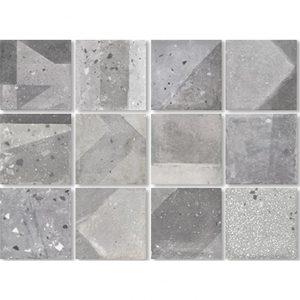 Agnes Grey 20x20 Dune - Cemento - Decorado