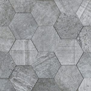 Amsterdam Hexagon Grey
