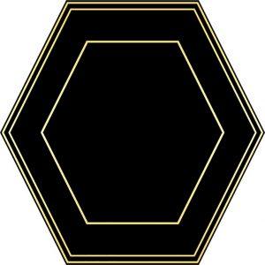Hexaline Comb Black