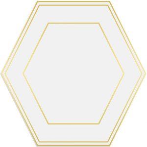 Hexaline Comb White