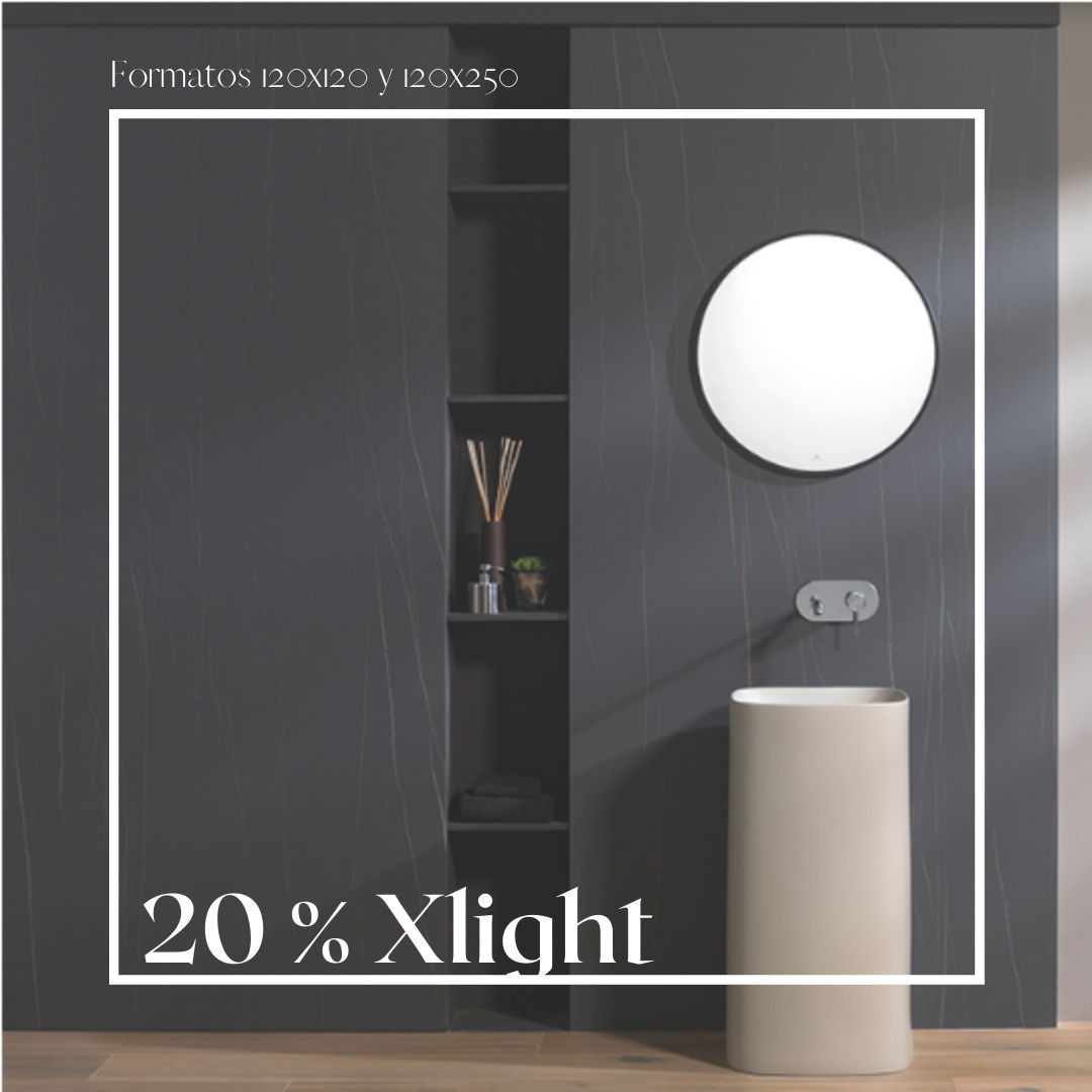 Promoción Xlight 20% de descuento